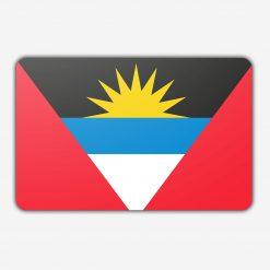 Tafelvlag Antigua en barbuda