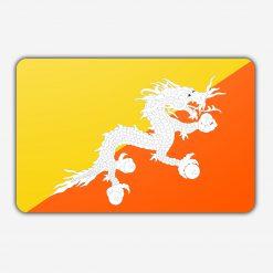 Tafelvlag Bhutan
