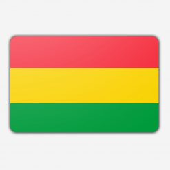 Tafelvlag Bolivia