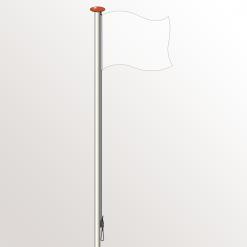 Vlaggenmast voor thuis