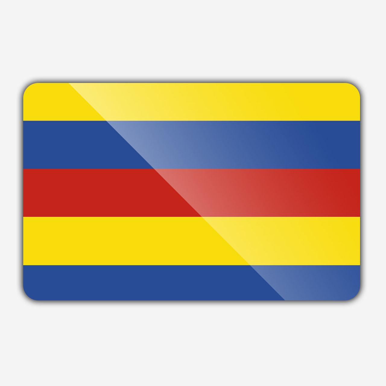 Vlag gemeente Bergen (Limburg)