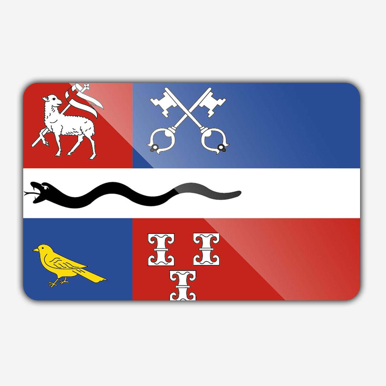 Vlag gemeente Derondevenen