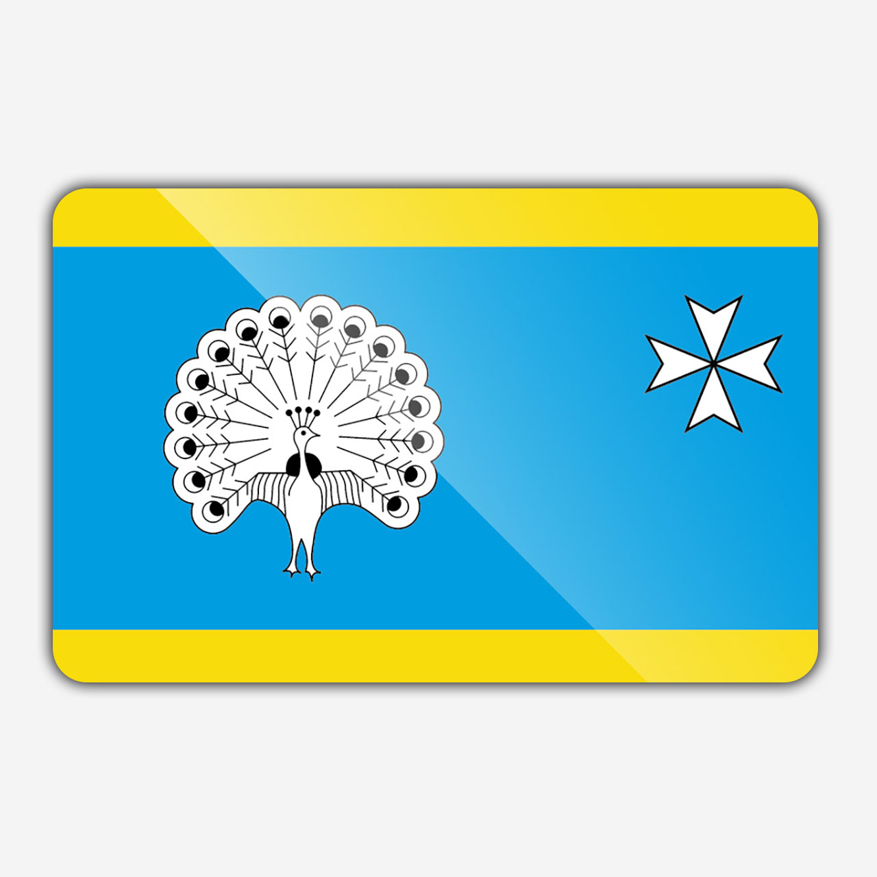 Vlag gemeente Ermelo