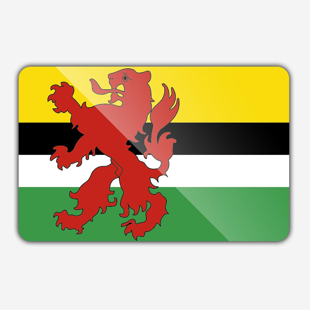 Vlag gemeente Geertruidenberg