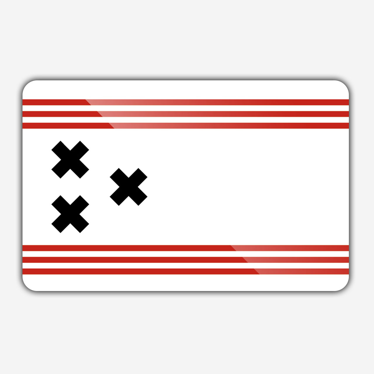 Vlag gemeente Hendrik-Ido-Ambacht