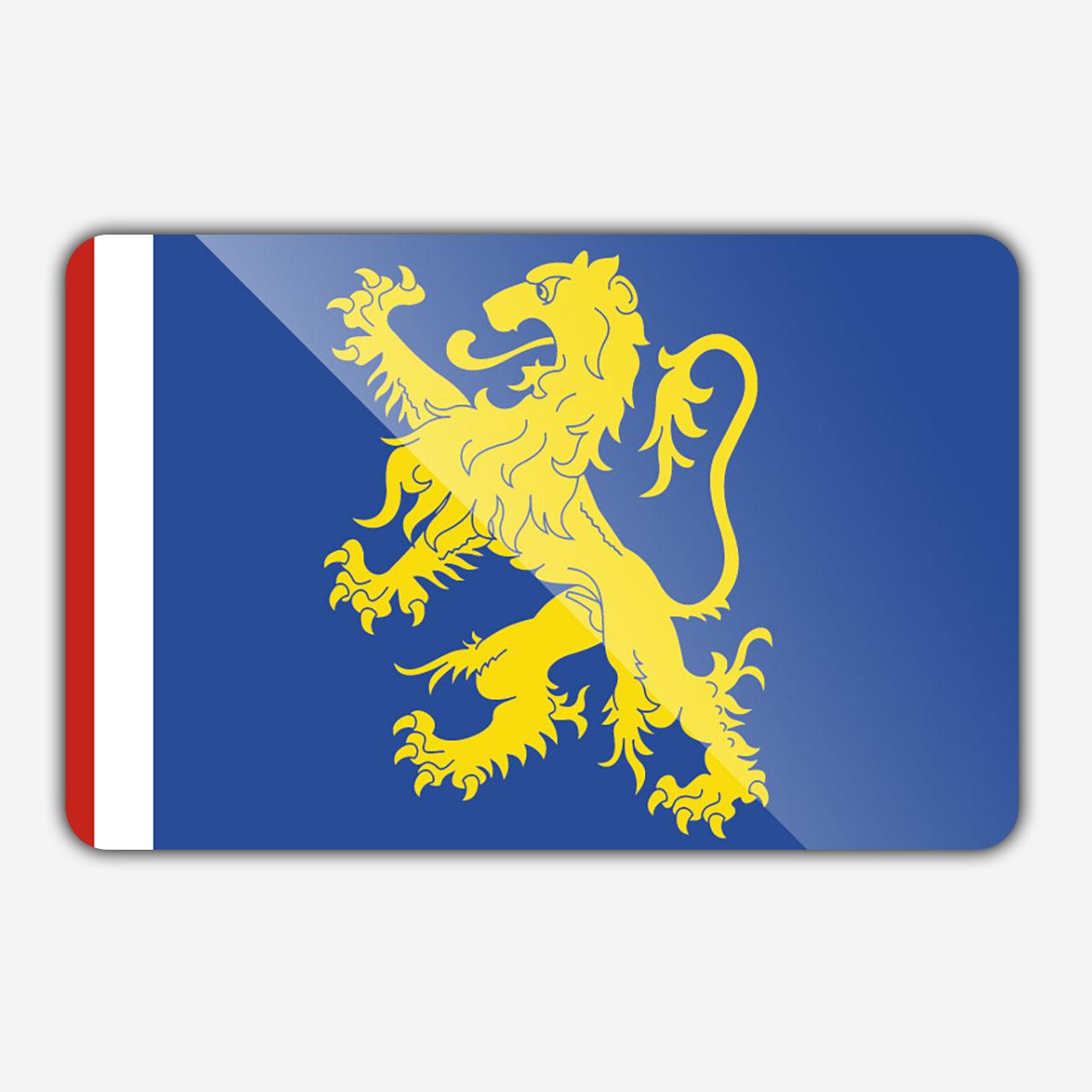 Vlag gemeente Leeuwarden