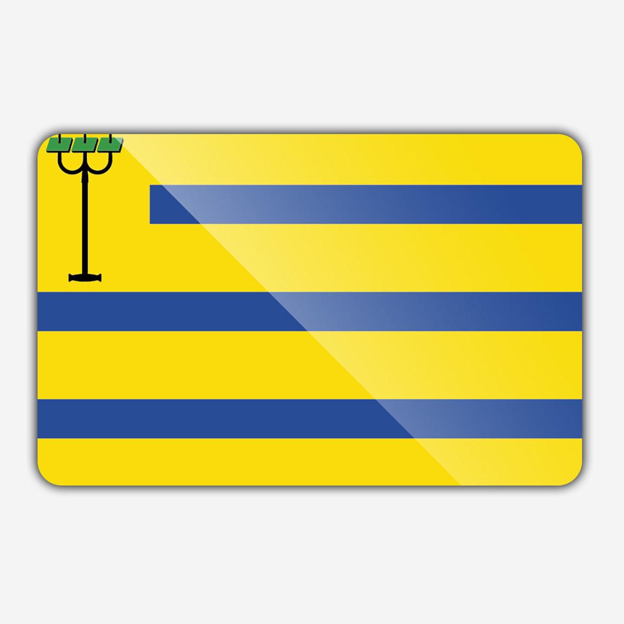 Vlag gemeente Oostzaan