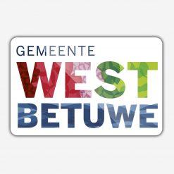 Vlag gemeente West Betuwe