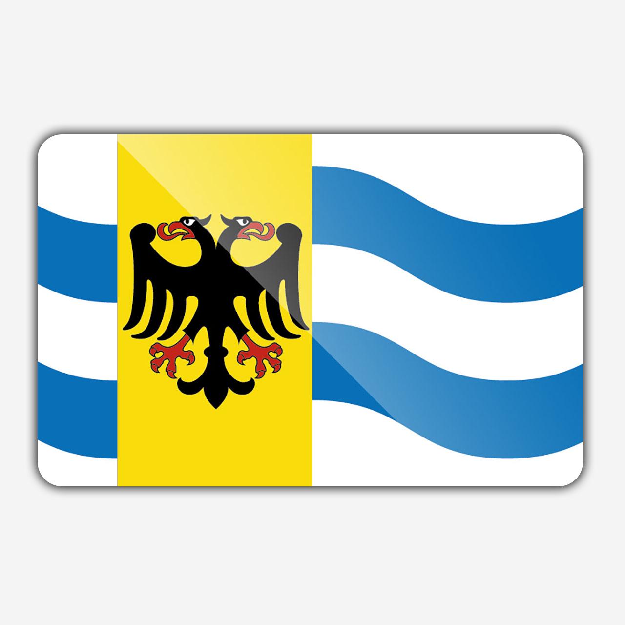 Vlag gemeente Westmaas en Waal