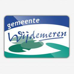 Vlag gemeente Wijdemeren