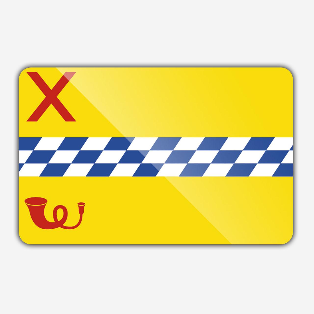 Vlag gemeente Woerden